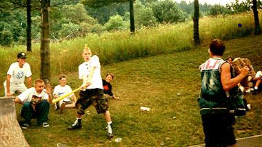 Kids playing fun