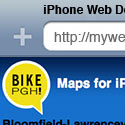 Bike PGH on iPhone