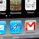 Photoshopped version of iPhone with Gmail icon